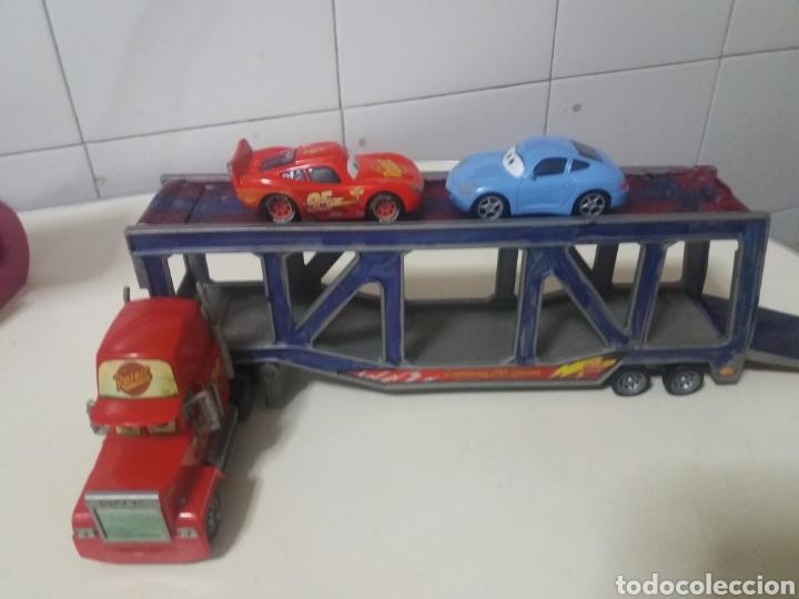 Juguetes antiguos: Lote Rayo Mcqueen Cars disney pixar Rust-eze Mattel antiguos - Foto 2 - 183529590