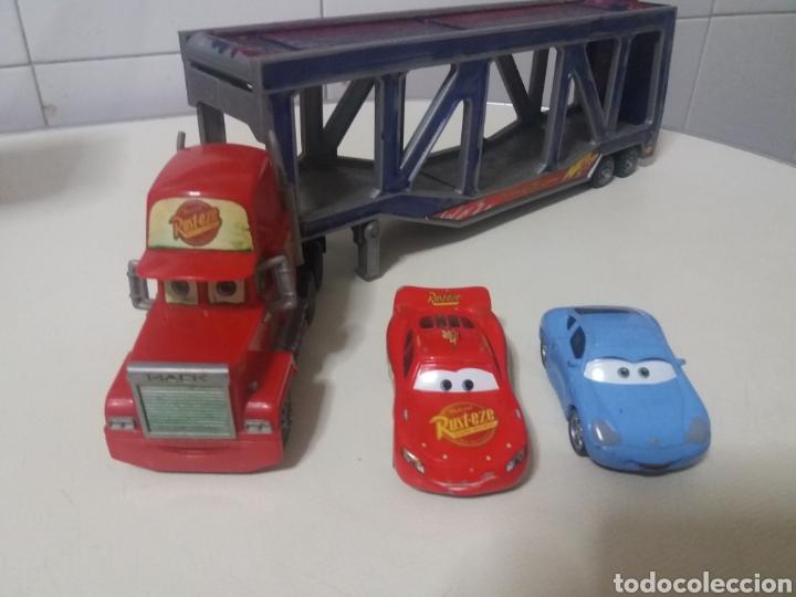 LOTE RAYO MCQUEEN CARS DISNEY PIXAR RUST-EZE MATTEL ANTIGUOS (Juguetes - Marcas Clasicas - Otras Marcas)