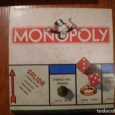 Juguetes antiguos: MONOPOLY DE BORRAS REF 6366-M. Lote 183597048