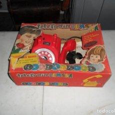 Juguetes antiguos: JUGUETE TELEFONIN MENSA TELEFONO MAGICO AÑOS 60 - 70. Lote 183621766