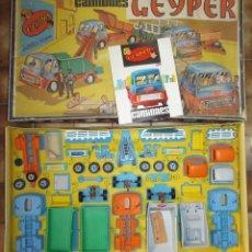 Juguetes antiguos: GEYPER CAMIONES CAJA REF 503 - CAJA MONTAJE DE CAMIONES ORIGINAL AÑOS 60. Lote 183711063