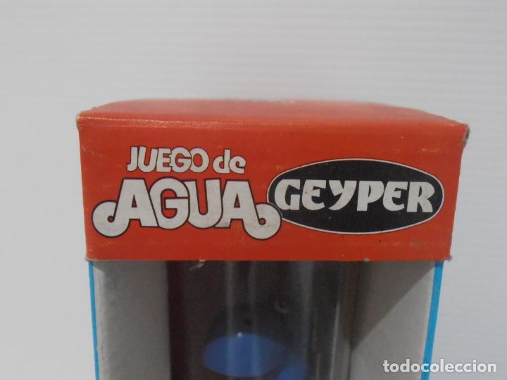 Juguetes antiguos: JUEGO DE AGUA GEYPER, REF 710, HIPOPOTAMO, EN CAJA, NUEVO A ESTRENAR, ANTIGUA JUGUETERIA - Foto 2 - 184873896