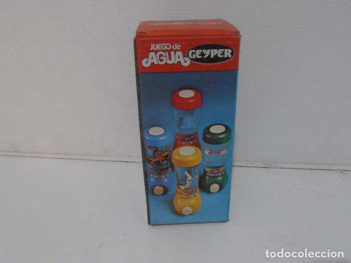 Juguetes antiguos: JUEGO DE AGUA GEYPER, REF 710, HIPOPOTAMO, EN CAJA, NUEVO A ESTRENAR, ANTIGUA JUGUETERIA - Foto 4 - 184873896
