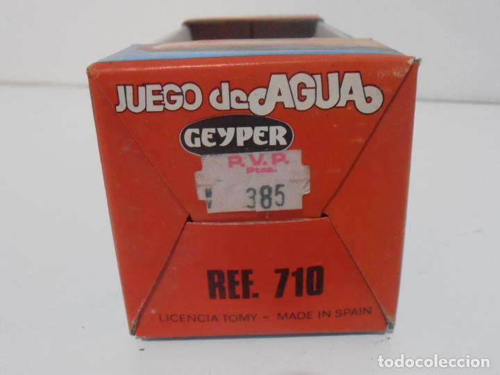 Juguetes antiguos: JUEGO DE AGUA GEYPER, REF 710, HIPOPOTAMO, EN CAJA, NUEVO A ESTRENAR, ANTIGUA JUGUETERIA - Foto 6 - 184873896