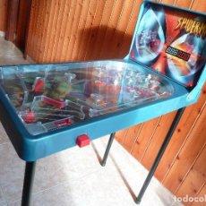 Juguetes antiguos: SUPER PINBALL PRO -SPIDERMAN- RIMA. Lote 184896648