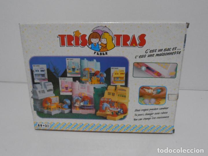 Juguetes antiguos: TRIS TRAS DE FEBER, BOLSO Y CASITA ROSA, NUEVO A ESTRENAR, ANTIGUA JUGUETERIA, AÑOS 80 - Foto 4 - 187616510