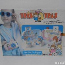 Brinquedos antigos: TRIS TRAS DE FEBER, CAMARA FOTOGRAFICA, BOLSO CASITA, NUEVO A ESTRENAR, ANTIGUA JUGUETERIA, AÑOS 80. Lote 187616903