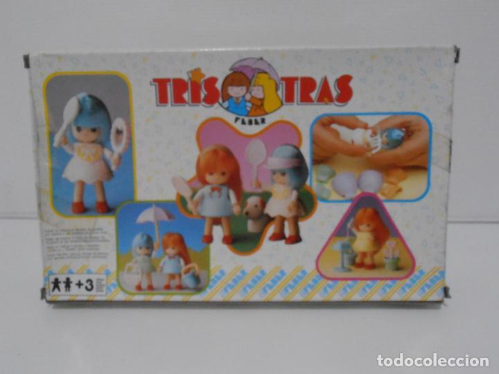Juguetes antiguos: TRIS TRAS DE FEBER, TRIS COQUETA, NUEVO A ESTRENAR, ANTIGUA JUGUETERIA, AÑOS 80 - Foto 2 - 187617903