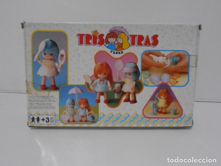 Juguetes antiguos: TRIS TRAS DE FEBER, TRIS JARDINERA, NUEVO A ESTRENAR, ANTIGUA JUGUETERIA, AÑOS 80 - Foto 2 - 187619156