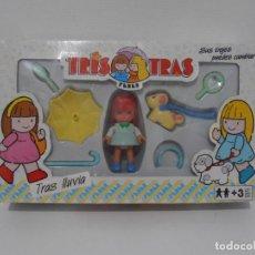 Brinquedos antigos: TRIS TRAS DE FEBER, TRAS LLUVIA, NUEVO A ESTRENAR, ANTIGUA JUGUETERIA, AÑOS 80. Lote 187620282
