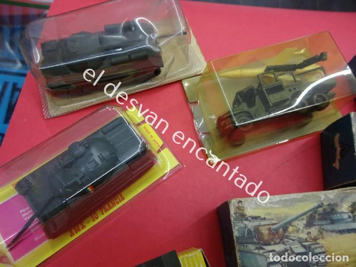 Juguetes antiguos: EKO. Gran lote de vehículos militares (muchos en caja original) y soldados de diversos países - Foto 2 - 188463581