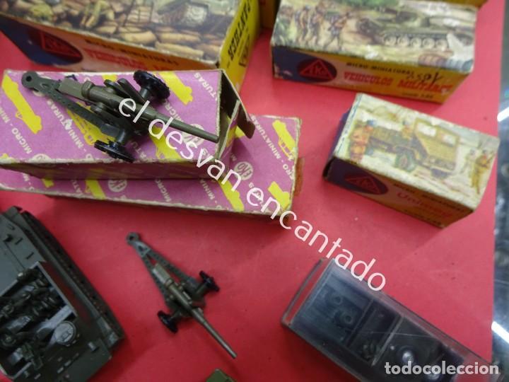 Juguetes antiguos: EKO. Gran lote de vehículos militares (muchos en caja original) y soldados de diversos países - Foto 6 - 188463581