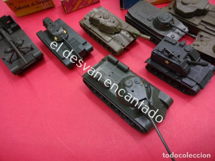 Juguetes antiguos: EKO. Gran lote de vehículos militares (muchos en caja original) y soldados de diversos países - Foto 9 - 188463581