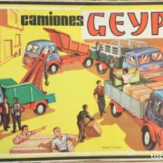 Juguetes antiguos: CAMIONES GEYPER. COMPLETA REF: 503. CAJA DE 3. AÑO 1963. Lote 190337023