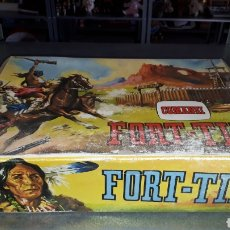Juguetes antiguos: ANTIGUO FORT - TIN DE COMANSI EN CAJA NUNCA JUGADO. Lote 190507273
