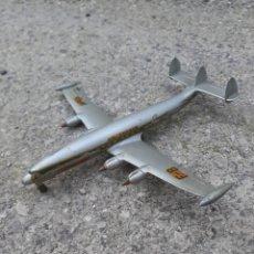 Brinquedos antigos: VIEJO AVION DINKY SUPER TOY MECCANO LOCKHEED. Lote 193385278