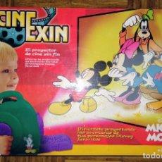 Juguetes antiguos: PROYECTOR CINEXIN CINE EXIN SUPER 8 PDJ MICKEY MOUSE DISNEY CON PELICULA . Lote 193726337