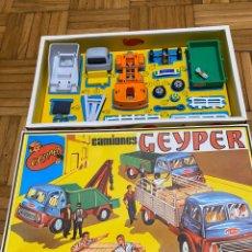 Juguetes antiguos: CAMIONES GEYPER A ESTRENAR! REF 501. Lote 222520576
