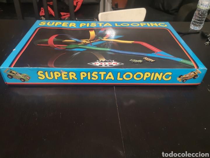 Juguetes antiguos: SUPER PISTA LOOPING DE PILEN AÑOS 70 - Foto 7 - 194230778