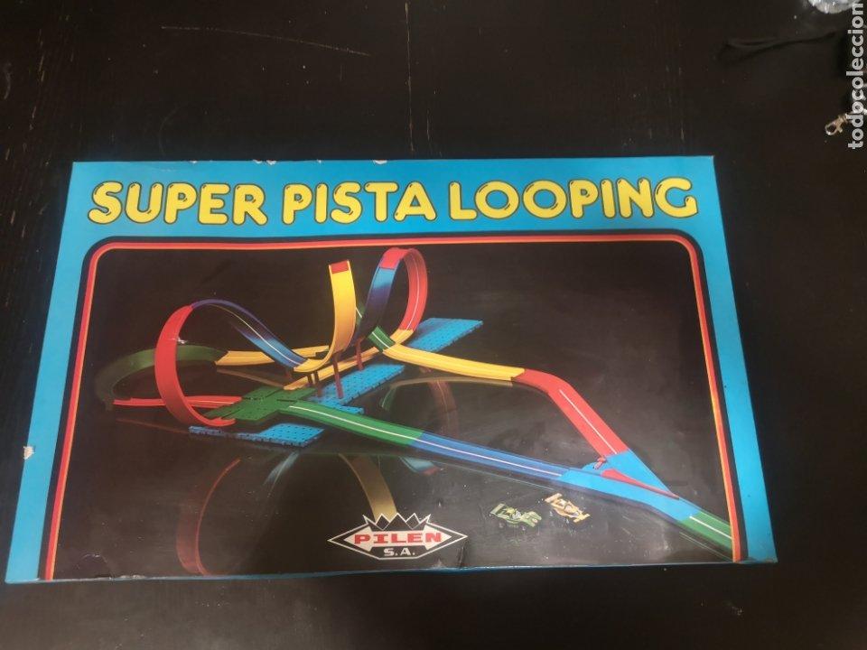 SUPER PISTA LOOPING DE PILEN AÑOS 70 (Juguetes - Marcas Clasicas - Otras Marcas)