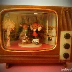 Juguetes antiguos: TELEVISOR ARTELUX PILARICA CABEZONES ZARAGOZANOS EN SU CAJA ORIGINAL( LEER DESCRIPCION). Lote 194311030