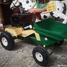 Jouets Anciens: TRACTOR PALA COLOMA Y PASTOR A PEDALES. Lote 194491463