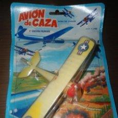 Brinquedos antigos: ANTIGUO JUGUETE AVION CAZA PRIMERA GUERRA MUNDIAL - I GUERRA MUNDIAL - SHAMBER`S. Lote 194492712