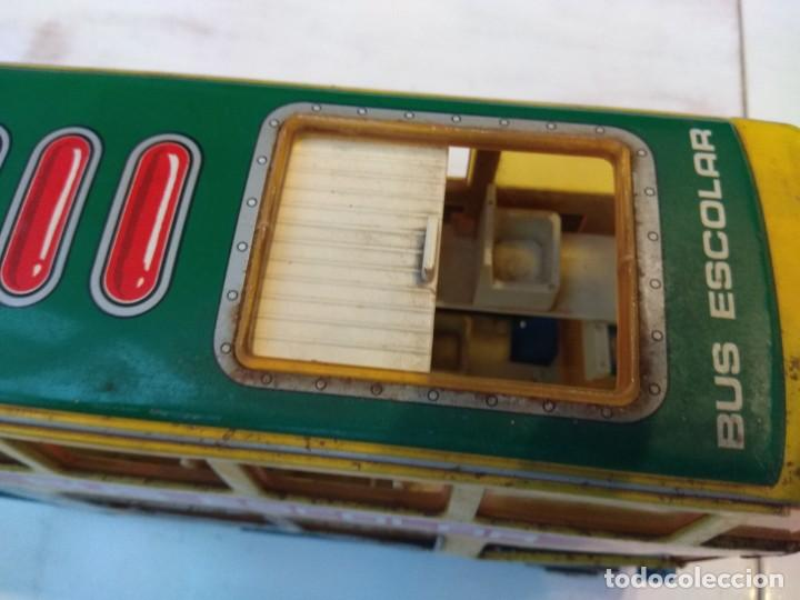 Juguetes antiguos: Lote dos autobuses chapa - Foto 15 - 194508353