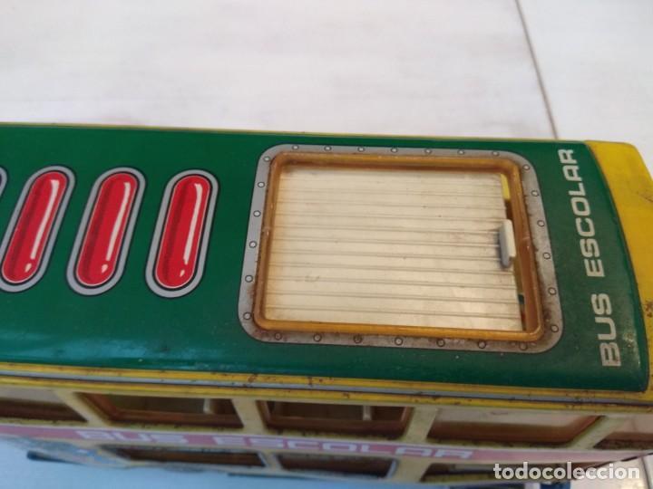 Juguetes antiguos: Lote dos autobuses chapa - Foto 16 - 194508353