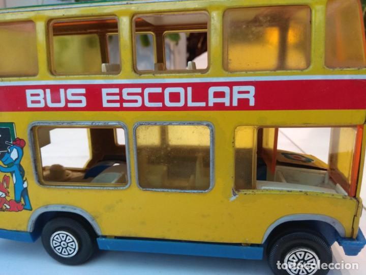 Juguetes antiguos: Lote dos autobuses chapa - Foto 17 - 194508353