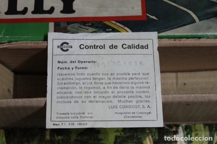 Juguetes antiguos: ACROBATIC RALLY DE CONGOST. FUNCIONA CORRECTAMENTE. - Foto 7 - 194619186