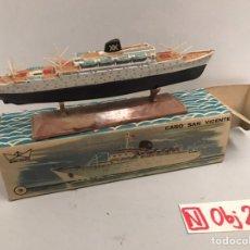 Juguetes antiguos: MINI SHIP 3 - CABO SAN VICENTE - ANGUPLAS. Lote 194690506