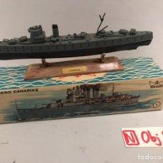 Juguetes antiguos: MINI SHIP 1 - CRUCERO CANARIAS - ANGUPLAS. Lote 194690993
