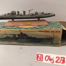 Juguetes antiguos: MINI SHIP 9 - CRUZERO GALICIA - ANGUPLAS. Lote 194691261