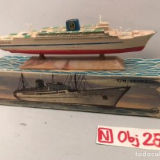 Juguetes antiguos: MINI SHIP 10 - TN VENEZUELA - ANGUPLAS. Lote 194691385