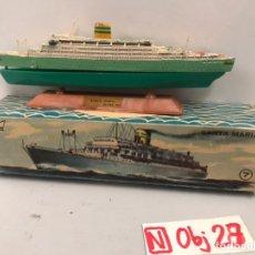Juguetes antiguos: MINI SHIP 7 - SANTA MARIA - ANGUPLAS. Lote 194691476