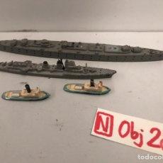 Juguetes antiguos: MINI SHIP - PARTES - ANGUPLAS. Lote 194691573