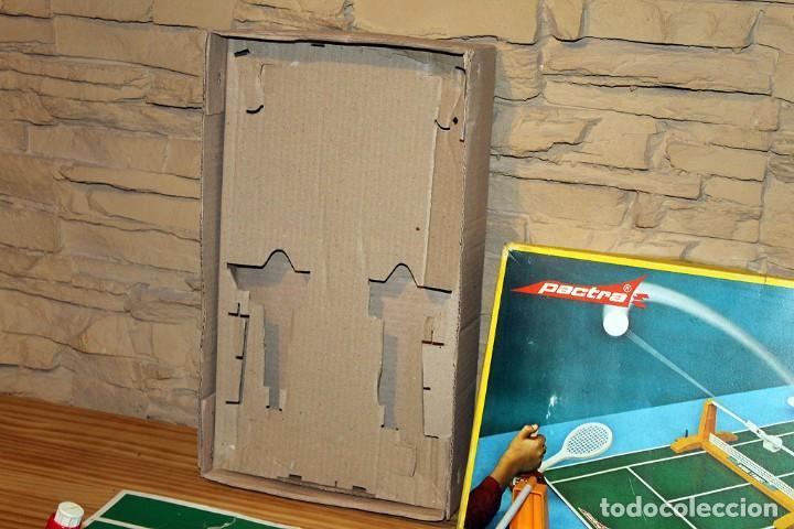 Juguetes antiguos: MINI TENIS DE PACTRA - ANTIGUO JUEGO DE MESA - AÑOS 70 - MADE IN SPAIN - COMPLETO - Foto 3 - 194890711