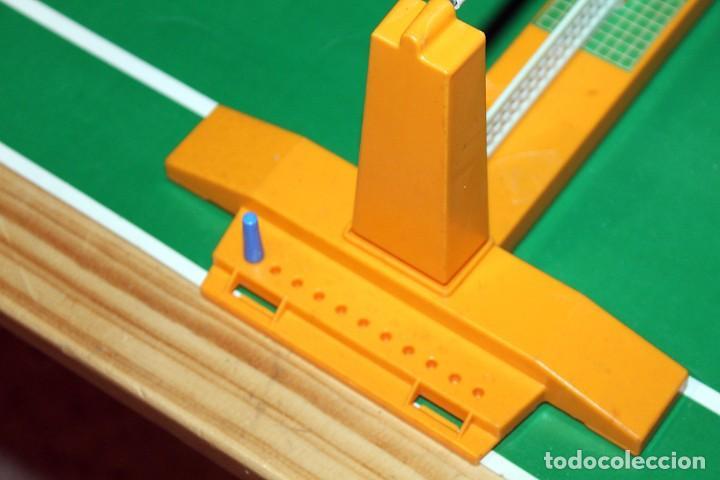 Juguetes antiguos: MINI TENIS DE PACTRA - ANTIGUO JUEGO DE MESA - AÑOS 70 - MADE IN SPAIN - COMPLETO - Foto 7 - 194890711