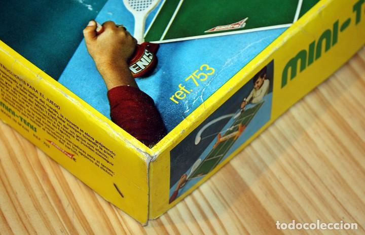 Juguetes antiguos: MINI TENIS DE PACTRA - ANTIGUO JUEGO DE MESA - AÑOS 70 - MADE IN SPAIN - COMPLETO - Foto 14 - 194890711