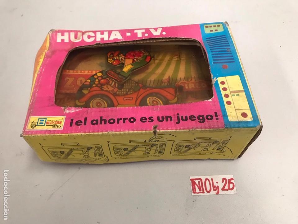 Juguetes antiguos: Hucha TV circo Bullycan - Foto 2 - 194894166
