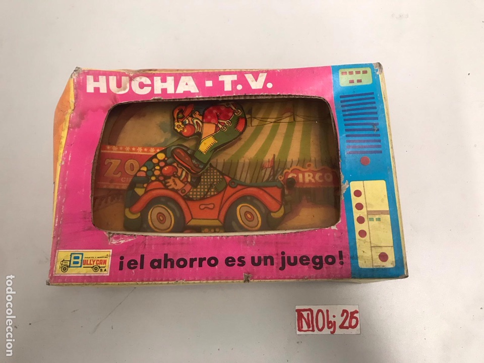 HUCHA TV CIRCO BULLYCAN (Juguetes - Marcas Clasicas - Otras Marcas)