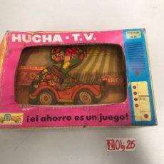 Juguetes antiguos: HUCHA TV CIRCO BULLYCAN. Lote 194894166