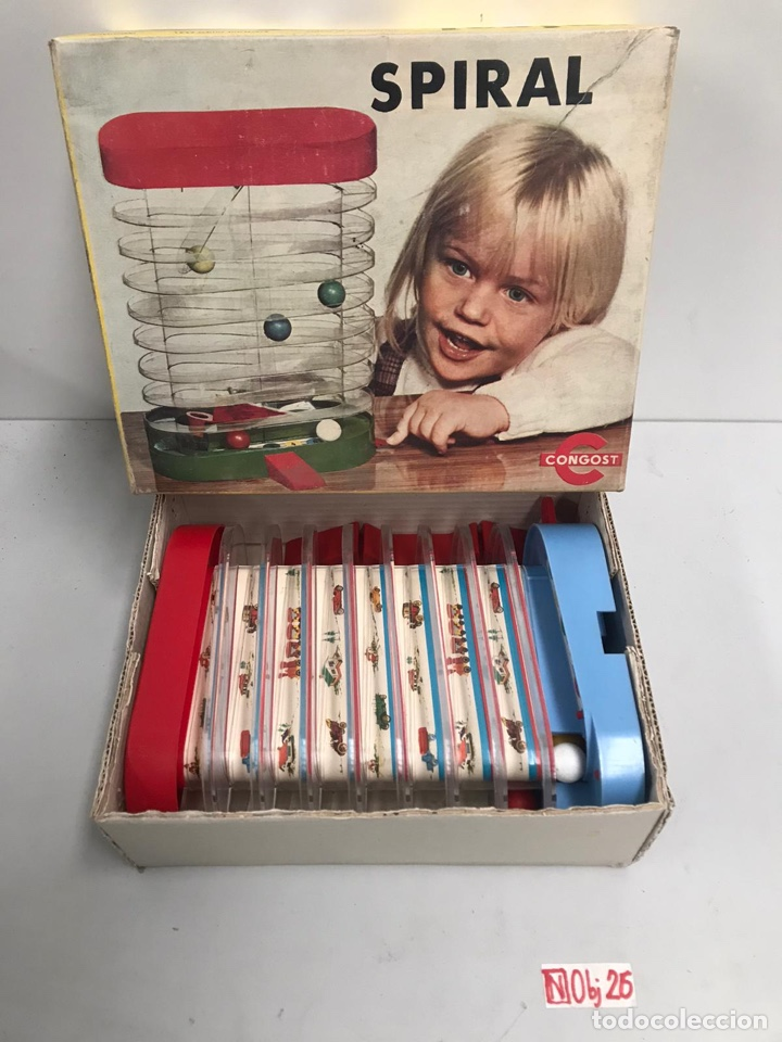 Juguetes antiguos: SPIRAL DE CONGOST. JUGUETE INFANTIL. 1971. CAJA ORIGINAL. - Foto 2 - 194895470