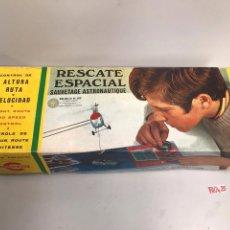 Juguetes antiguos: RESCATE ESPACIAL - JUEGO CONGOST 1970 -. Lote 194897116
