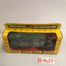 Brinquedos antigos: DODGE BARREIROS, CAMIÓN AMBULANCIA MILITAR DIVISIÓN ACORAZADA DE PICSAN, SERIE CAMIONES PANTERA. Lote 194900321