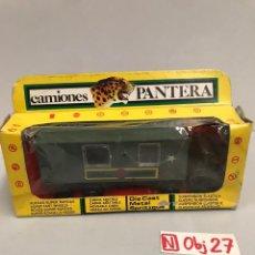 Brinquedos antigos: DODGE BARREIROS, CAMIÓN AMBULANCIA MILITAR DIVISIÓN ACORAZADA DE PICSAN, SERIE CAMIONES PANTERA. Lote 194900633