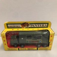 Brinquedos antigos: DODGE BARREIROS, CAMIÓN AMBULANCIA MILITAR DIVISIÓN ACORAZADA DE PICSAN, SERIE CAMIONES PANTERA. Lote 194900725