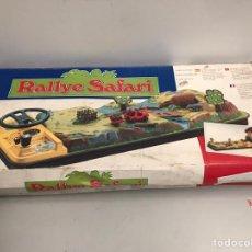 Juguetes antiguos: RALLYE SAFARI NUEVO EN CAJA. MATTEL. COMPLETO.. Lote 194929960
