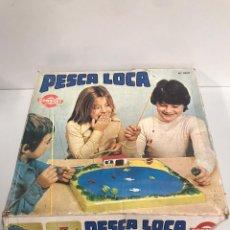 Juguetes antiguos: PESCA LOCA. Lote 194970998